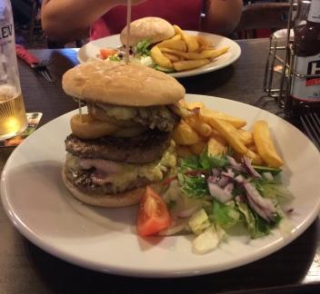 Burger in UK