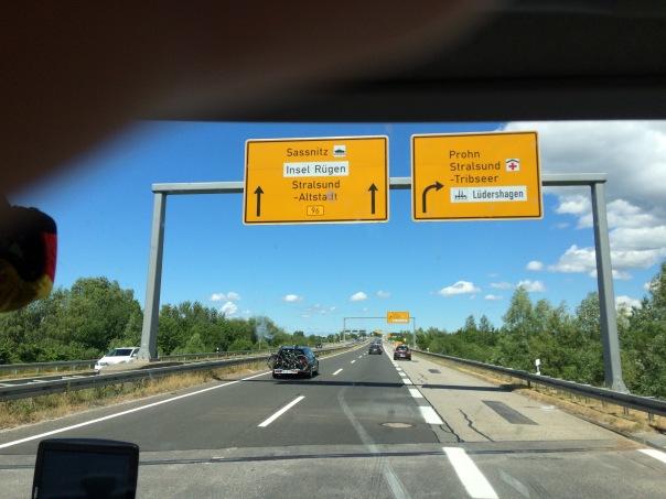 Autobahnschilder