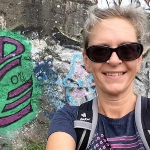 Vor Grafitti am Kanal