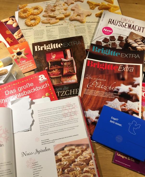 Weihnachtbücher Weihnachtsmagazine Sammlung Sylvia Tiews