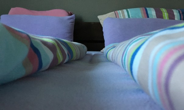 Gemachtes Bett für guten Schlaf