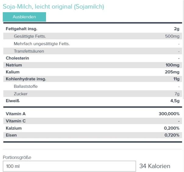 Sojamilch
